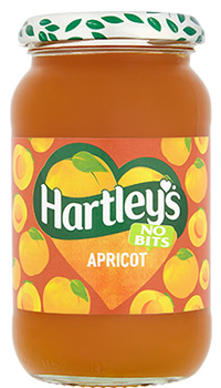 Hartley's No-Bits Apricot Jam