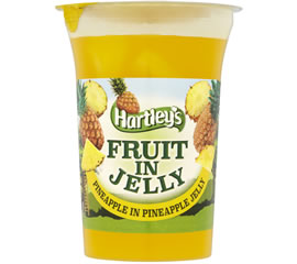 Hartley's Pineapple in Pineapple Flavour Jelly Pot 175g
