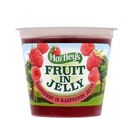 Hartley's Raspberry in Raspberry Flavour Jelly Pot 120g