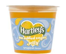 Hartley's No Added Sugar Tropical Jelly Pot