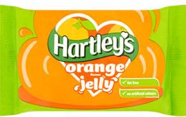 Hartley's Orange Jelly Cubes