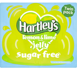 Hartley's Sugar Free Lemon & Lime Jelly