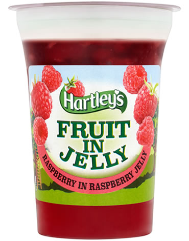 Hartley's Raspberry in Raspberry Flavour Jelly Pot 175g