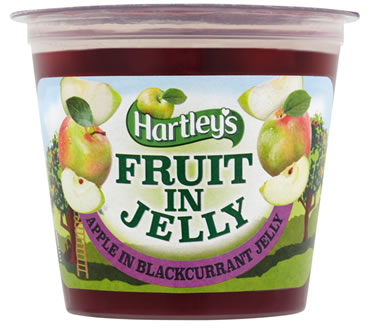 Hartley's Apple in Blackcurrant Flavour Jelly Pot 120g
