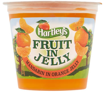 Hartley's Mandarin in Orange Flavour Jelly Pot 120g