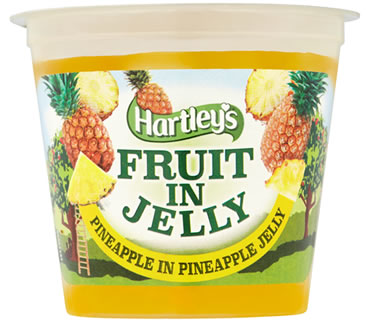 Hartley's Pineapple in Pineapple Flavour Jelly Pot 120g