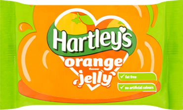 Hartley's Orange Jelly Cubes