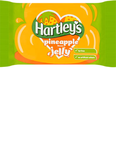 Hartley's Pineapple Jelly Cubes