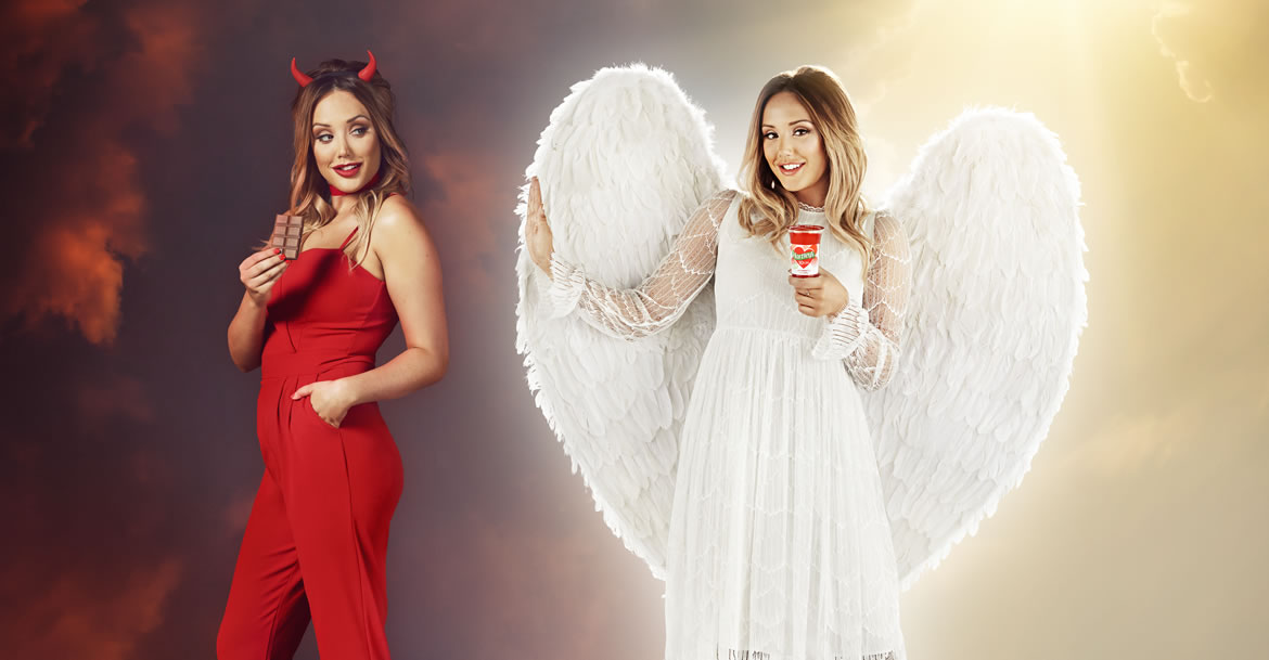 Hartley's have teamed up with Charlotte Crosby to prevent the nation from a January diet wobble!