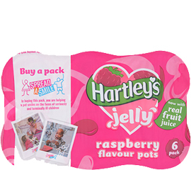 Hartley's Raspberry Multipack Jelly Pots